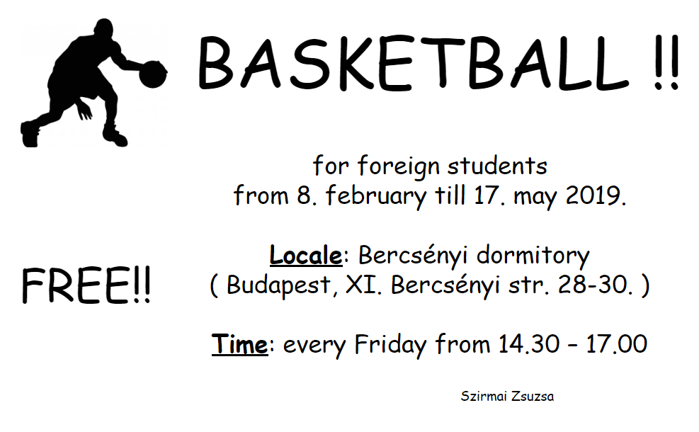 Basketball for foreign students
